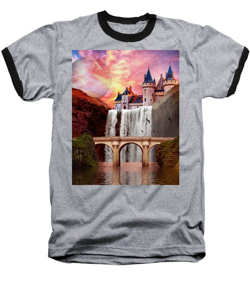 Great Falls Castle Baseball T-Shirt