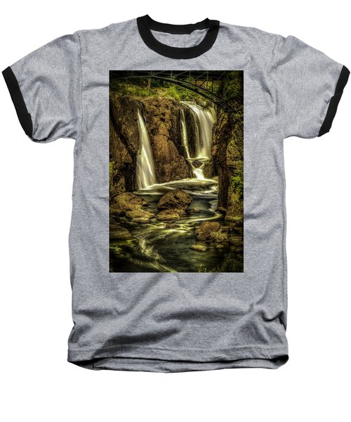 Great Falls Close Up Baseball T-Shirt