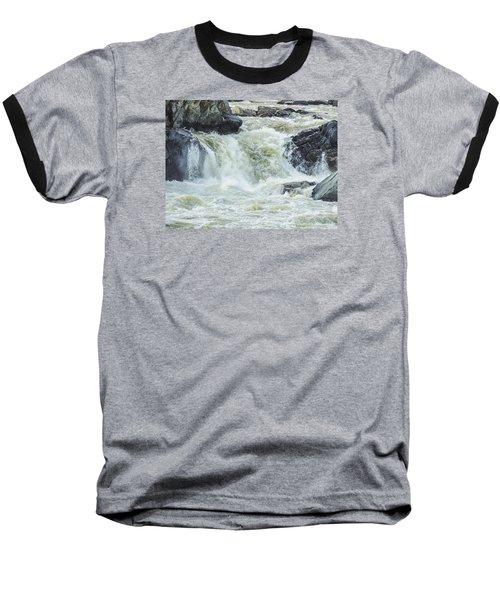 Great Falls Of The Potomac Baseball T-Shirt