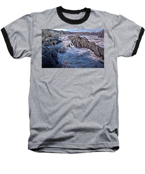 Great Falls Virginia Baseball T-Shirt by Suzanne Stout