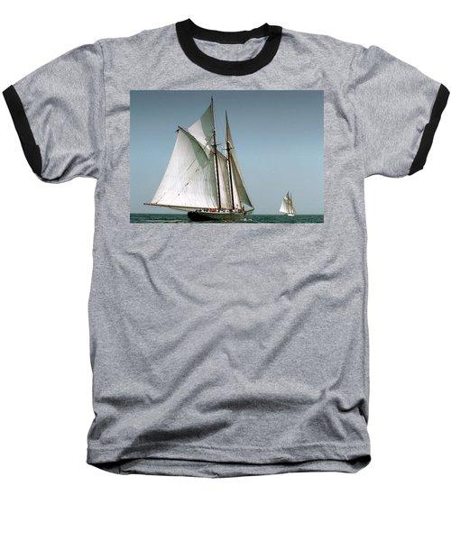 Great Gloucester Schooner Race Baseball T-Shirt