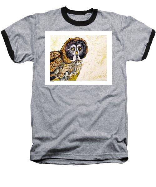Great Grey Baseball T-Shirt