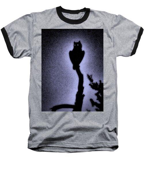 Great Horned Owl In The Desert 4 Baseball T-Shirt
