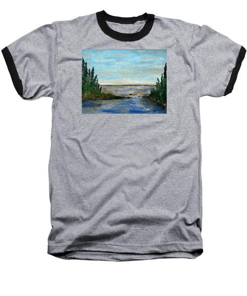 Great Lake Beyond Baseball T-Shirt by R Kyllo