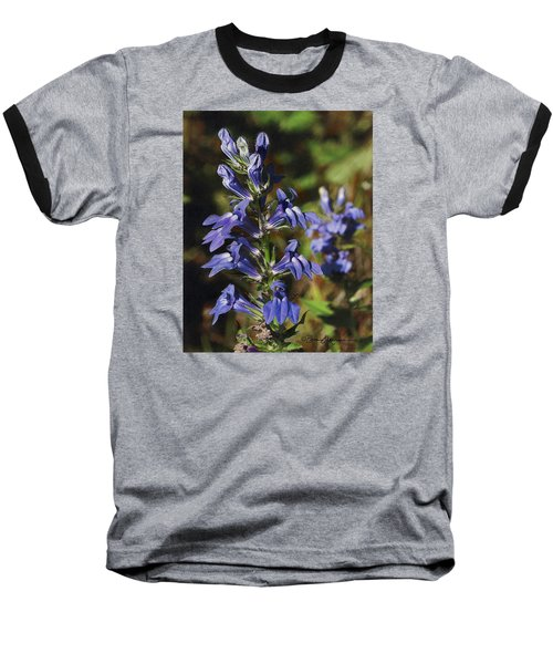 Great Lobelia Blues Baseball T-Shirt