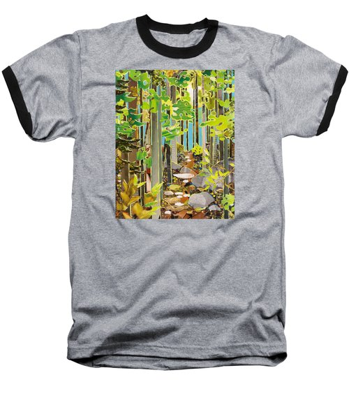 Great Maine Woods Baseball T-Shirt