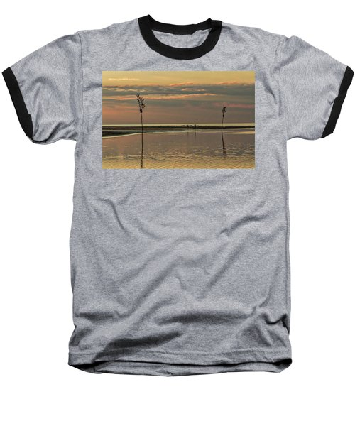 Great Moments Together Baseball T-Shirt by Patrice Zinck