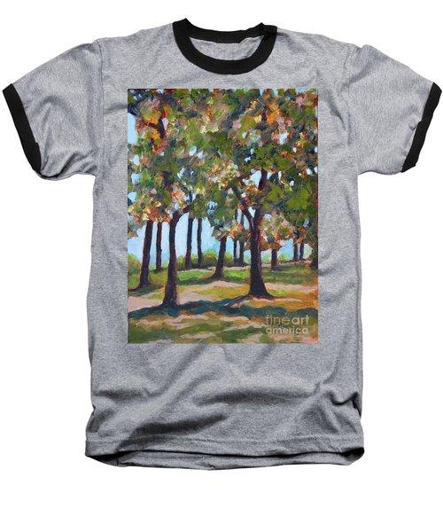 Great Outdoors Baseball T-Shirt by Jan Bennicoff