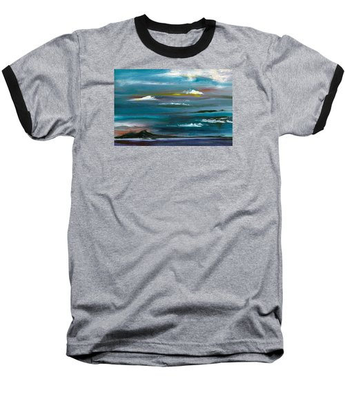 Great Salt Lake Baseball T-Shirt by Jane Autry