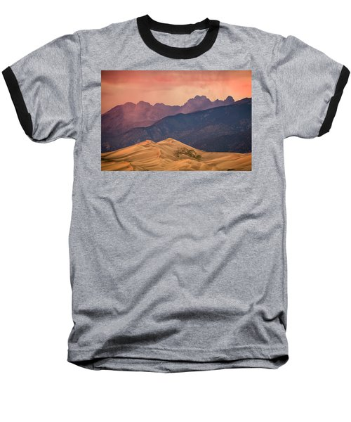 Great Sand Dunes Colorado Baseball T-Shirt