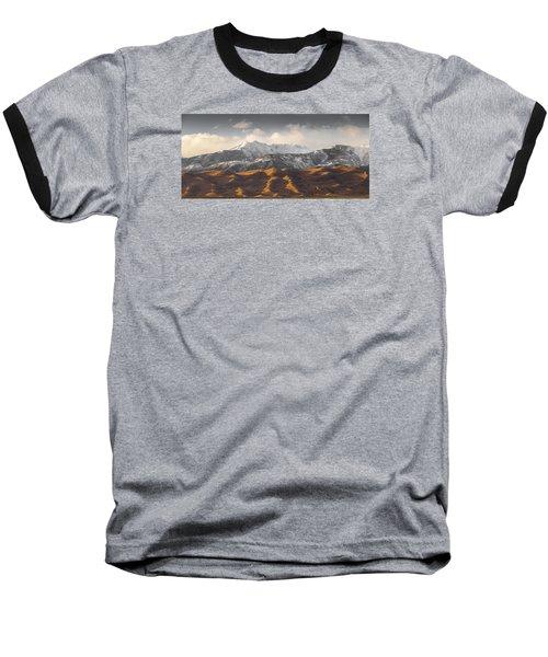 Great Sand Dunes Baseball T-Shirt