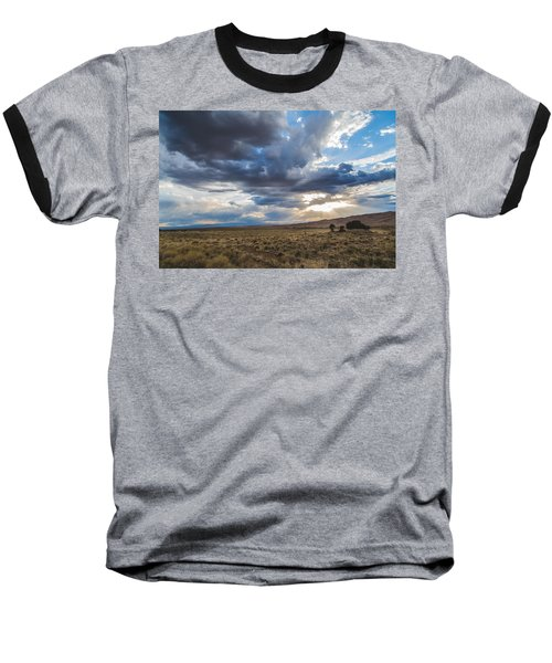 Great Sand Dunes Stormbreak Baseball T-Shirt