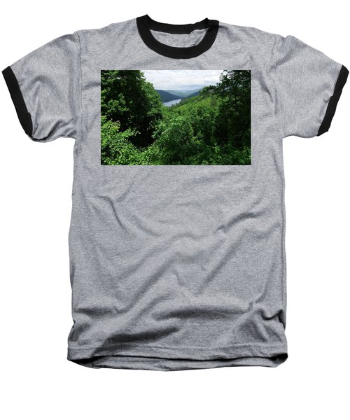 Great Smoky Mountains Baseball T-Shirt by Cathy Harper