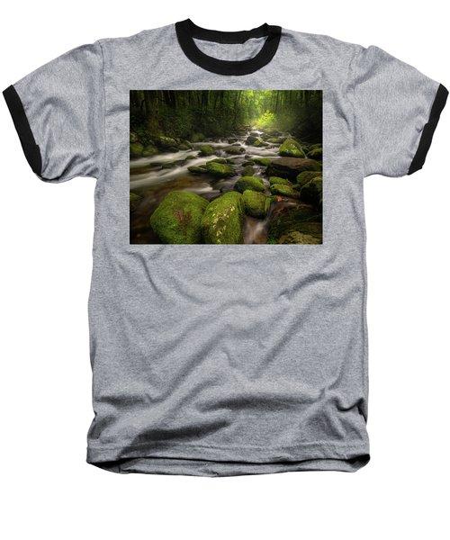 Great Smoky Mountains Roaring Fork Baseball T-Shirt
