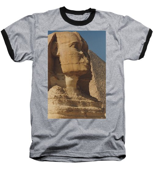 Great Sphinx Of Giza Baseball T-Shirt