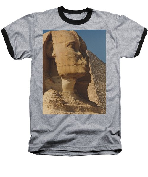 Great Sphinx Of Giza Baseball T-Shirt