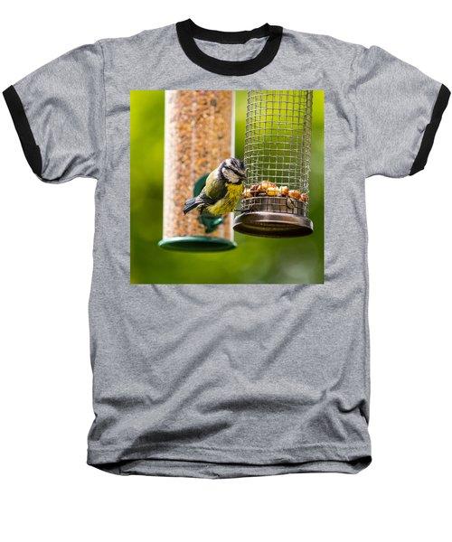 Great Tit Baseball T-Shirt