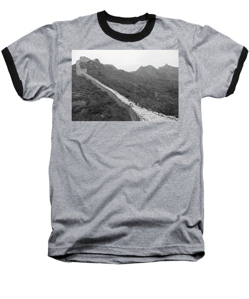 Great Wall 4, Jinshanling, 2016 Baseball T-Shirt by Hitendra SINKAR