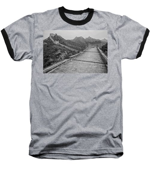 Great Wall 5, Jinshanling, 2016 Baseball T-Shirt by Hitendra SINKAR