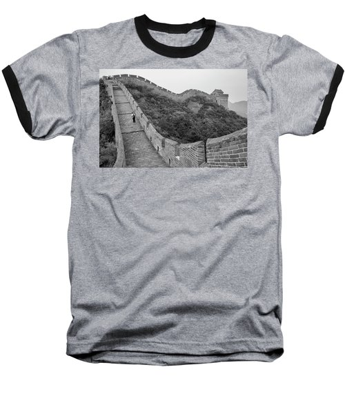 Great Wall 9, Jinshanling, 2016 Baseball T-Shirt by Hitendra SINKAR