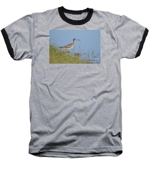 Greater Yellowlegs Baseball T-Shirt