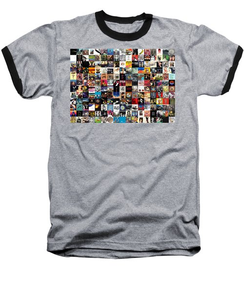 Greatest Album Covers Of All Time Baseball T-Shirt