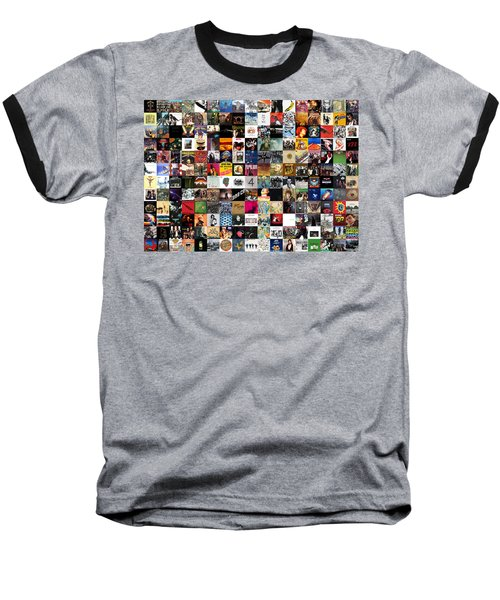 Greatest Rock Albums Of All Time Baseball T-Shirt