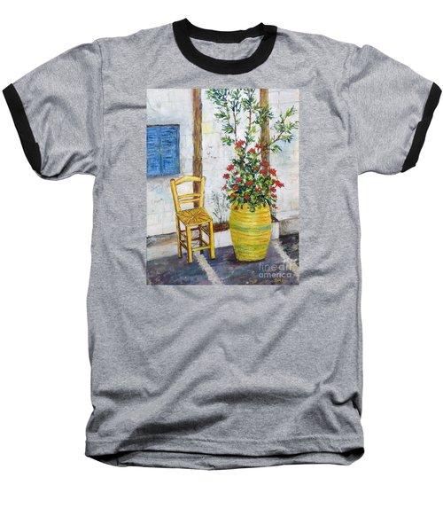 Greek Chair Baseball T-Shirt
