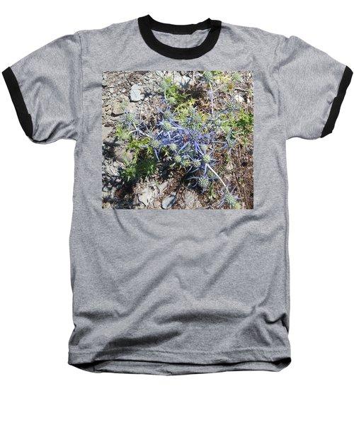 Greek Spiky Plant Baseball T-Shirt