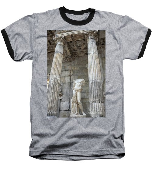 Baseball T-Shirt featuring the photograph Greek Statue by Patricia Hofmeester