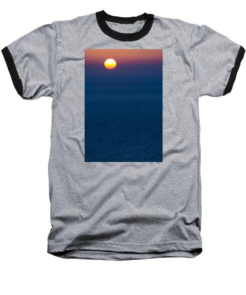 Greek Sunset Baseball T-Shirt
