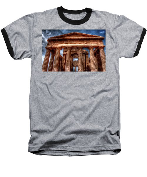 Temple Of Concord  Baseball T-Shirt by Patrick Boening