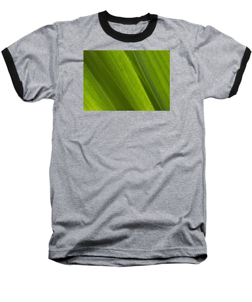 Green Abstract 2 Baseball T-Shirt