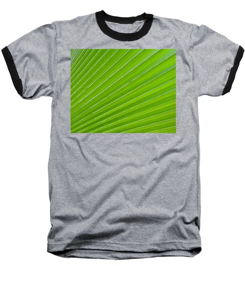 Green Abstract No. 1 Baseball T-Shirt