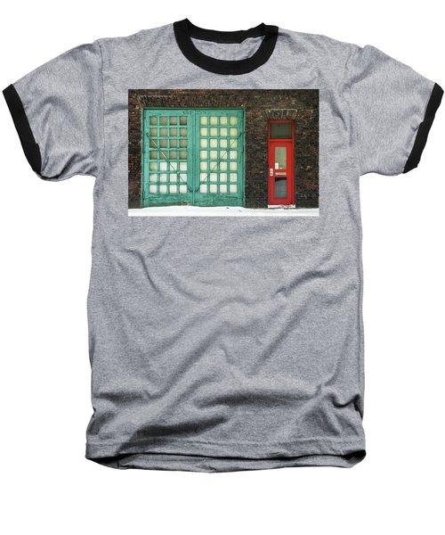 Green And Red Baseball T-Shirt