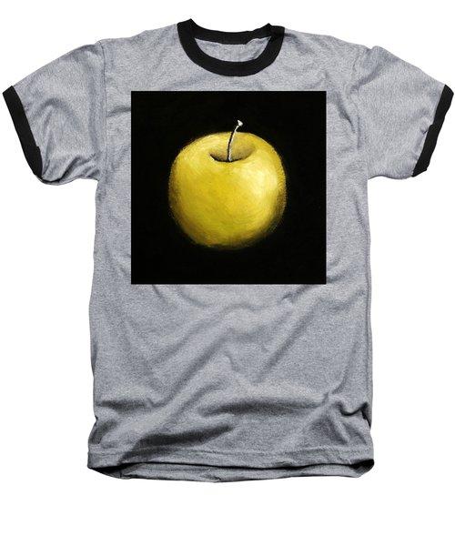 Green Apple Still Life 2.0 Baseball T-Shirt by Michelle Calkins
