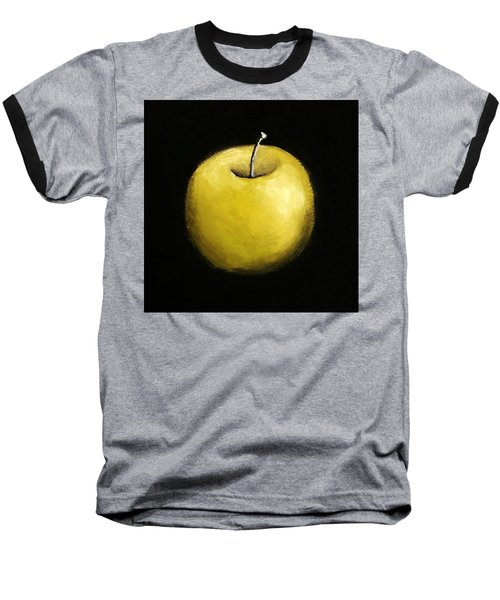 Green Apple Still Life 2.0 Baseball T-Shirt