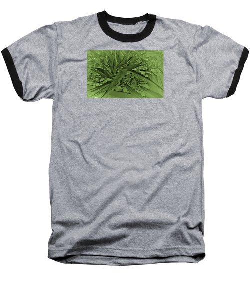 Baseball T-Shirt featuring the photograph Green Bird Of Paradise by Nareeta Martin