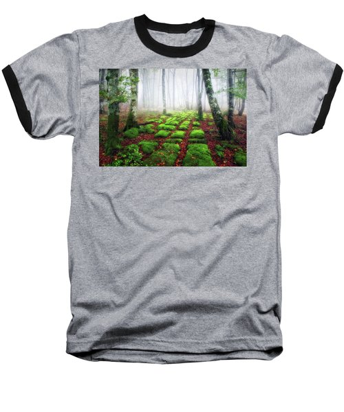 Green Brick Road Baseball T-Shirt