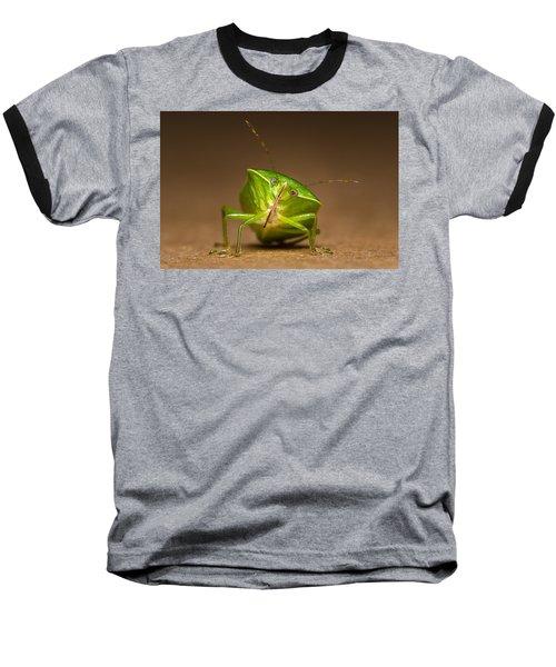 Green Bug Baseball T-Shirt