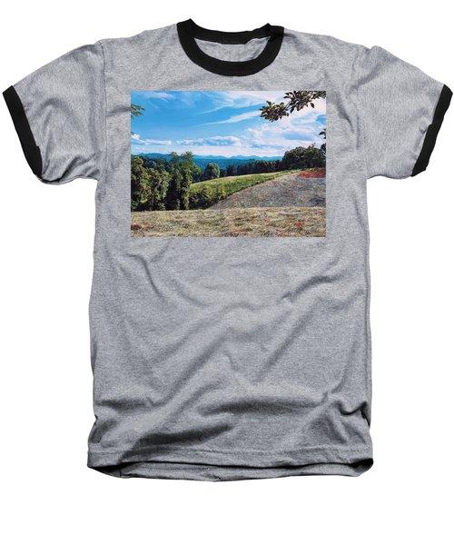 Green Country Baseball T-Shirt by Joshua Martin