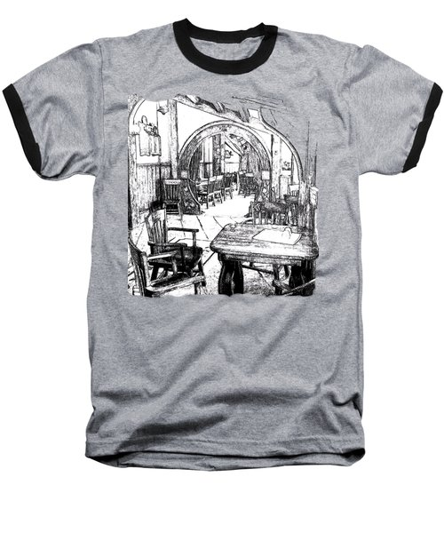 Green Dragon Inn's Writing Nook T-shirt Baseball T-Shirt
