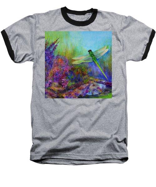 Green Dragonfly Baseball T-Shirt