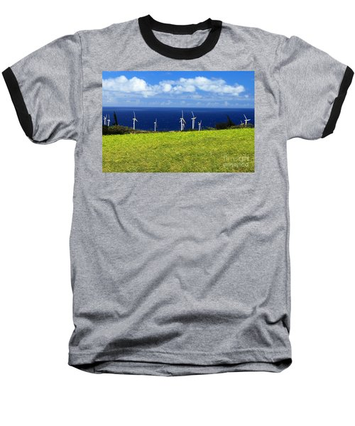 Green Energy Baseball T-Shirt