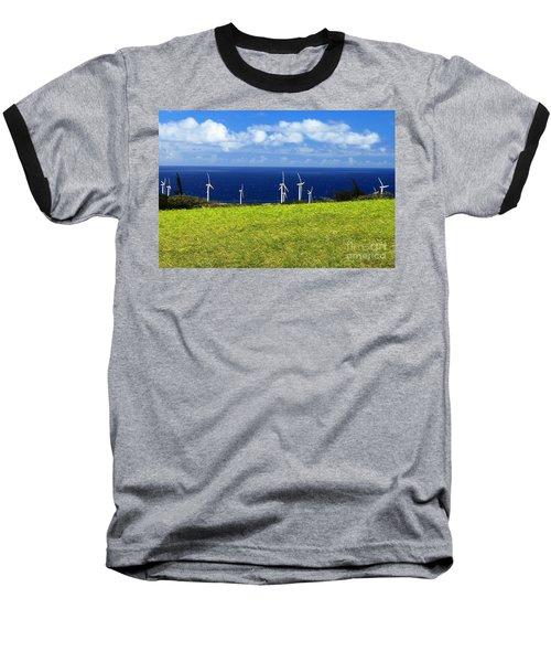 Green Energy Baseball T-Shirt