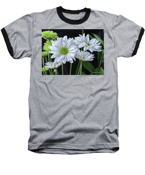 Baseball T-Shirt featuring the photograph Green Eyed Daisy by Bonnie Willis