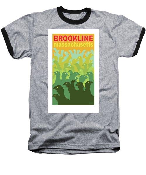 Green Fields Of Brookline Baseball T-Shirt
