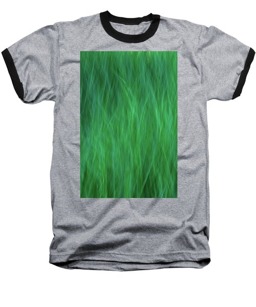 Green Fire 2 Baseball T-Shirt