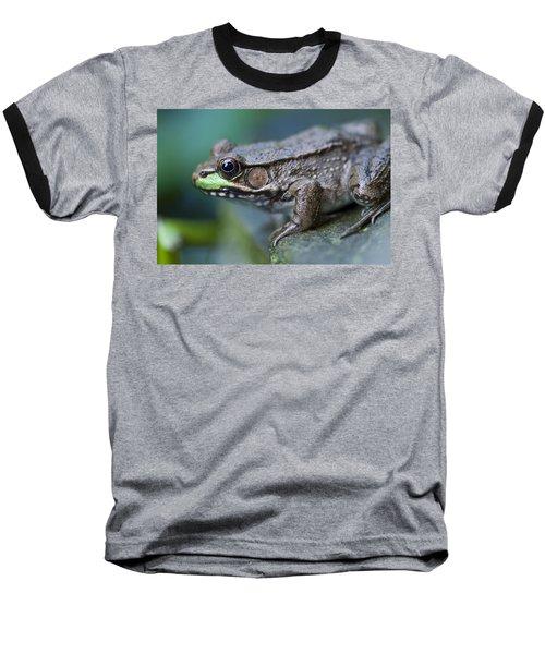 Green Frog Baseball T-Shirt