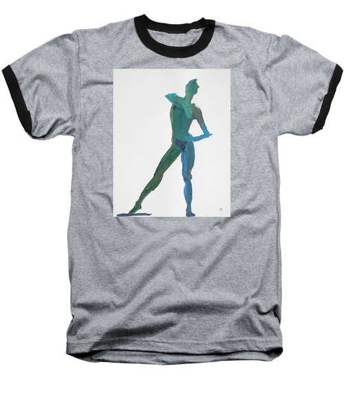 Green Gesture 2 Pointing Baseball T-Shirt